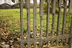 Damaged fence Stock Images