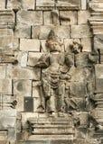 Borobudur ancient wall art indonesia Stock Photography