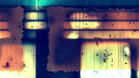 Damaged Film Grunge 2 Loopable Background stock video
