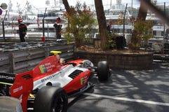 Damaged Formula Renault Stock Photo
