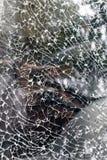 Damaged glass pattern Royalty Free Stock Image