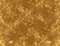 Damaged golden background Stock Photos