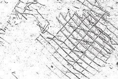 Damaged Grid Royalty Free Stock Photo