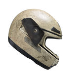 Damaged helmet Royalty Free Stock Images