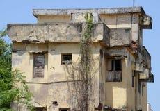 DAMAGED HOUSE Royalty Free Stock Photos