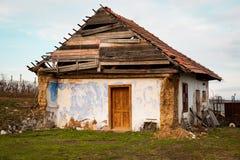 Damaged house Stock Photo
