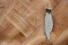 Damaged linoleum royalty free stock images