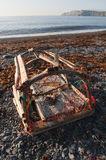 Damaged Lobster Trap Stock Photos