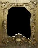 Damaged metal frame Royalty Free Stock Photography