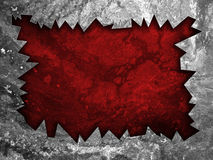 Damaged Metal Grunge Banner Royalty Free Stock Images