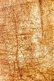 Damaged metallic surface background with rust and scratches Stock Images