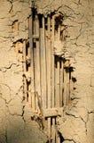 Damaged Mud Wall Royalty Free Stock Image