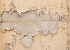 Damaged plaster concrete background wall Stock Photo