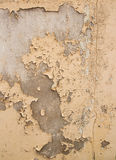Damaged plaster concrete background wall Royalty Free Stock Photos