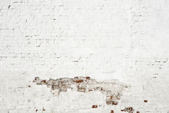 Damaged plaster wall Stock Photo