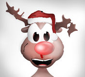 Damaged Reindeer Royalty Free Stock Photos