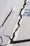 Damaged Road Stock Images