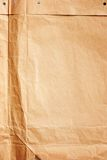 Damaged Rumpled Package with Texture of Paper Royalty Free Stock Images