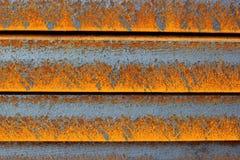 Damaged rusty iron background Stock Photo