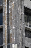 Damaged skyscraper after 2001.9.11. Royalty Free Stock Photos