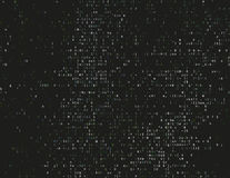 Damaged source code Royalty Free Stock Images