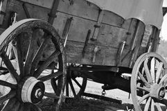 Damaged Stagecoach 2. Damaged Stagecoach at Outdoor Museum located in Sunny Valley, Oregon Stock Photography
