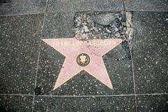 The damaged star of  Franklin Pangborn Stock Photo