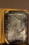 Damaged tablet Stock Photography