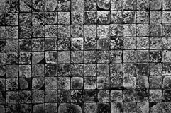 Damaged tiles Stock Image