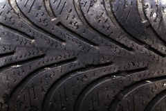 Damaged tires Stock Photos