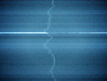 Damaged TV Static Background Loop with Thick Scanlines. A 20 second loop of analog tv static and distortion stock video