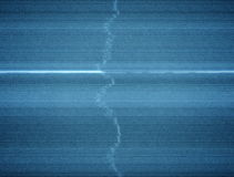 Damaged TV Static Background Loop with Thick Scanlines. A 20 second loop of analog tv static and distortion with thick horizontal scanlines stock footage