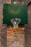 Damaged Urban Basketball Net Royalty Free Stock Images