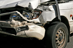 Damaged vehicle Royalty Free Stock Photography