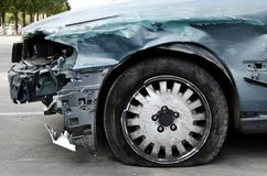 Damaged vehicle Royalty Free Stock Photos