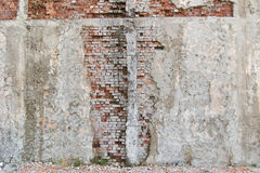 Damaged wall Stock Photos