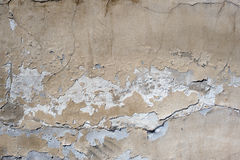 Damaged wall Royalty Free Stock Photography