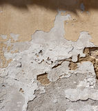Damaged wall Royalty Free Stock Photos