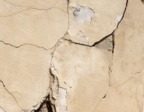 Damaged wall. Structure (for texture Royalty Free Stock Photos