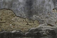 Damaged wall Stock Image