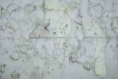 Damaged wall insulation stock photo