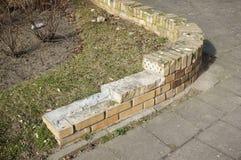 Damaged wall Royalty Free Stock Image