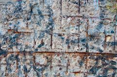 Damaged Wall Royalty Free Stock Images