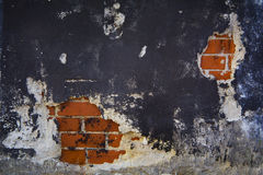 Damaged wall Stock Image