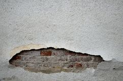 Damaged wall vintage background Stock Photos