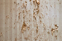 Damaged Wallpaper Stock Images