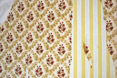 Damaged Wallpaper Royalty Free Stock Image