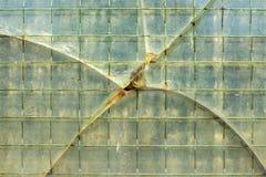 Damaged window Stock Photo