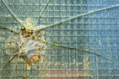 Damaged window Royalty Free Stock Photography
