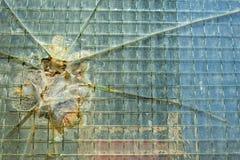 Damaged window Royalty Free Stock Photography